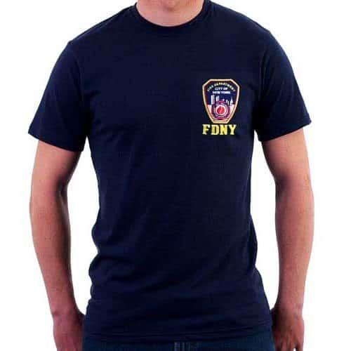 55553 Embroidered Emblem Patch T-shirt