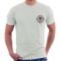 55570 Maltese Cross T-shirt (gray) FDNY568 frnt_1