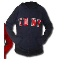 55621 Sale - Ladies Zip Hood (navy) FDNY125