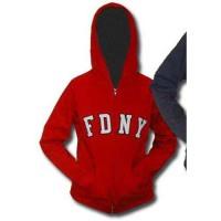 55621 Sale - Ladies Zip Hood (red) FDNY125