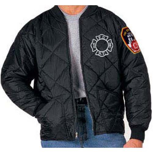 Fdny Quilted Jacket Fdny Shop