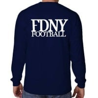 55680 Bravest Football Long Sleeve bk