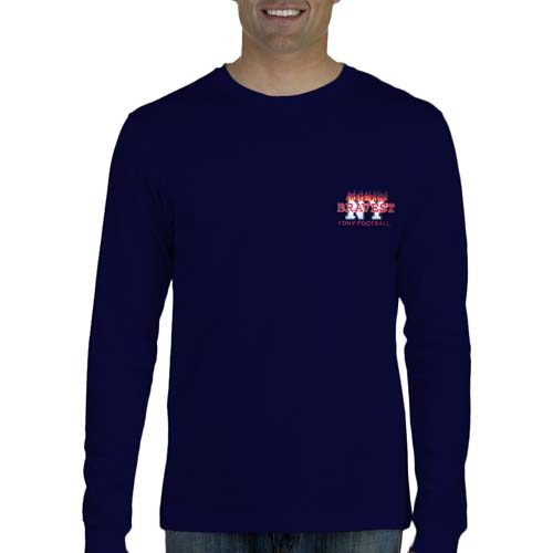 55680 Bravest Football Long Sleeve frnt