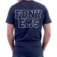 55737 FDNY EMS Tshirt FDNY842 bk