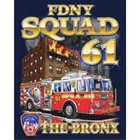 55755 Squad 61 Bronx T-shirt bk only