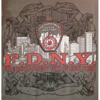 55758 FDNY NYC Skyline T-shirt bk logo only