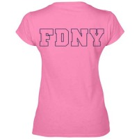 55787 Ladies Maltes Cross v-neck (Pink)FDNY126V bk_2