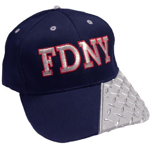 a492e6351bf2 DIAMOND PLATE FDNY BASEBALL CAP – FDNY Shop