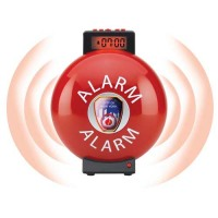 Fire Bell Alarm Clock 03032