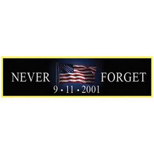 Never Forget Bar Pin 01080