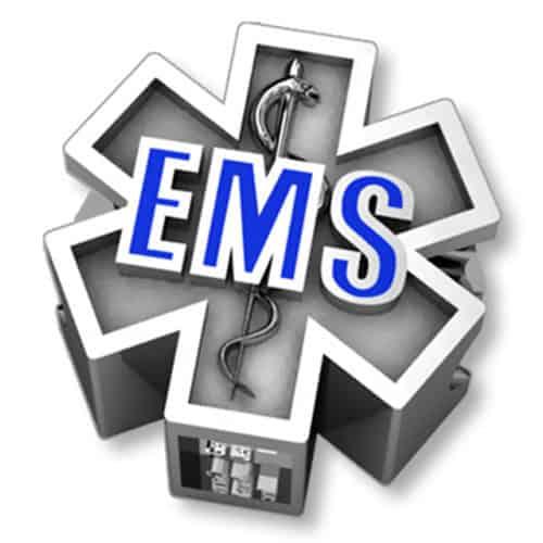 EMS Star of Life Charm 03034_1