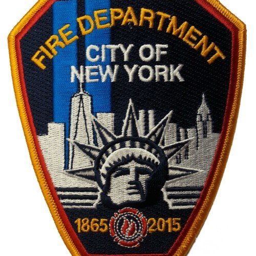 FDNY 150TH PATCH 03420