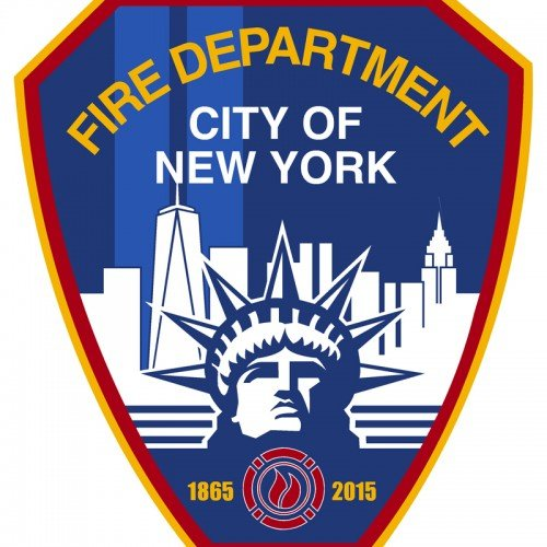 CU-2490 FDNY 150th Anniversary Decal 05000