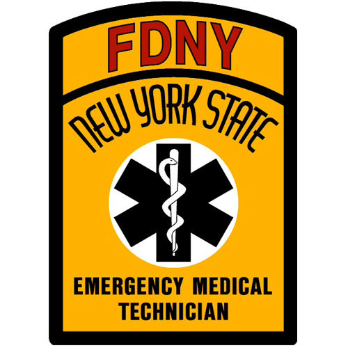 FDNY EMT Decal 01394 ECS