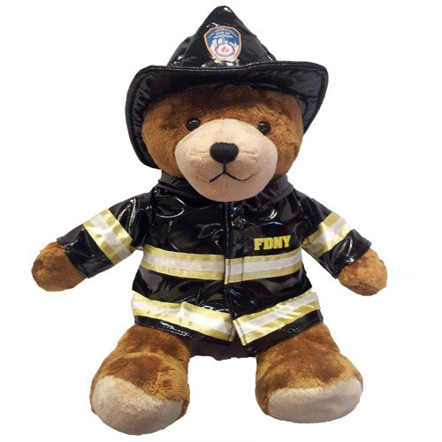 7b7ffae910a FDNY BUNKER GEAR TEDDY BEAR – LARGE – FDNY Shop