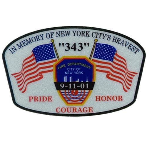 343 Flag Decal ECS
