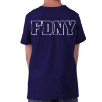 55596 Kids Maltese Cross T-shirt bk FDNY127