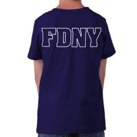 55596 Kids Maltese Cross T-shirt bk FDNY127