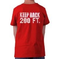 55701 Kids FDNY Emblem T-shirt (red) FDNY112 bk
