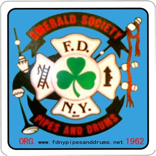 Emerald Society Decal 01310 ECS