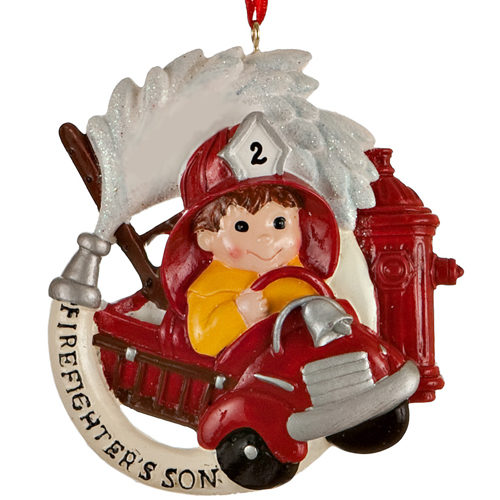 Firefighters Son ornament 01298