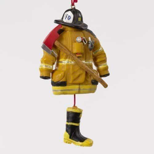 Fireman Gear Ornament 01443 KSA