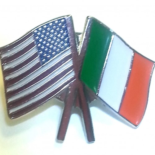 Irish-US Flag Pin 00343
