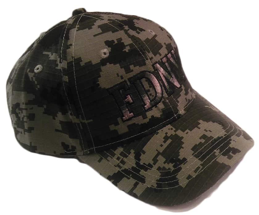 f51cbe7a797 FDNY CAMOUFLAGED BASEBALL HAT – FDNY Shop