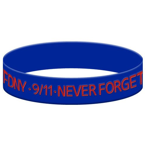 Never Forget Silicone Bracelet 01223
