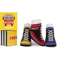 FDNY Baby Socks 3 Pk  Set Trumpette