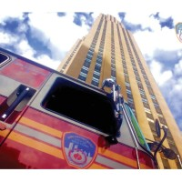 6037A - FDNY APPARATUS AT ROCKEFELLER CENTER