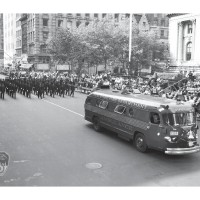 6037K - FDNY MARCHING IN 1961 LABOR DAY PARADE