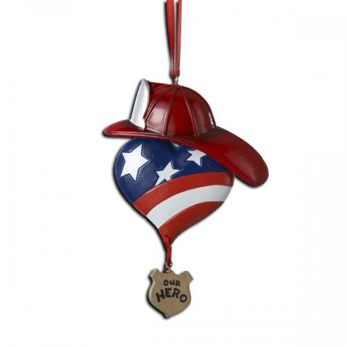 Our Hero ornament 01441