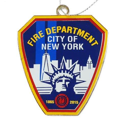 fdny150 anniv emblem ornament