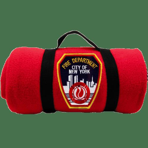 FDNY Emblem Patch Blanket