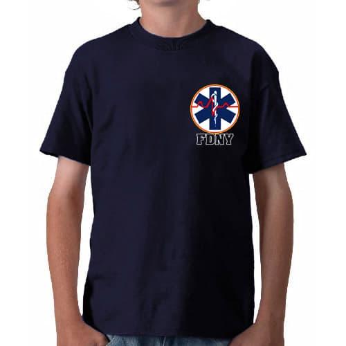 Kids EMS T-shirt frnt FDNY84SK