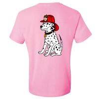 Kids Dalm T-shirt Pink bk