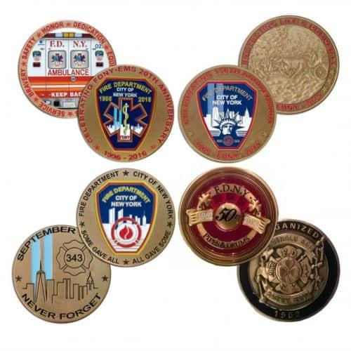 4 COIN SET