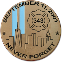 9-11 15th Anniversary Coin frnt bk