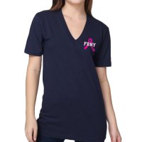 Ribbon Tee - Navy frnt2