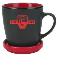 FZ 2 tone mug - RED