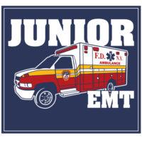 Kids Jr EMT logo bk