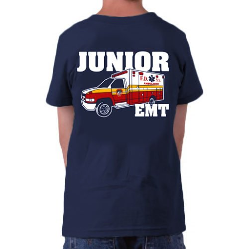 Kids Jr EMT t-shirt bk