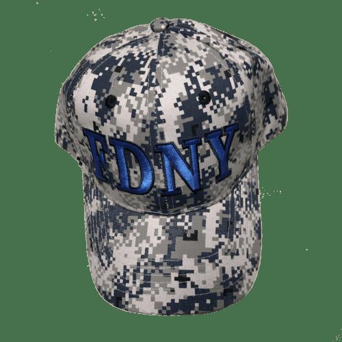 ad06578dcc7bb FDNY CAMO HAT – BLUE
