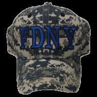 FDNY Camo Cap - Blue