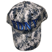 FDNY Camo Cap - Blue 3