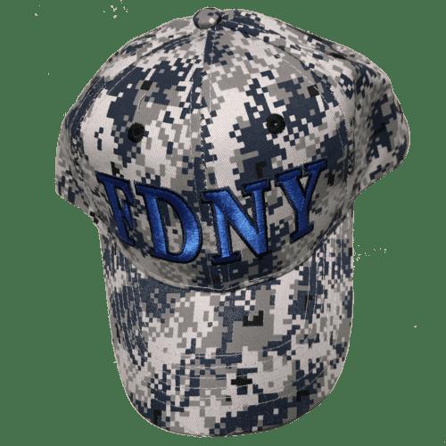 905be5131eda FDNY CAMO HAT – BLUE – FDNY Shop
