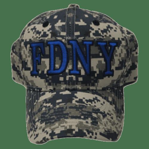 67b95cbd4d1 FDNY CAMO HAT – BLUE – FDNY Shop