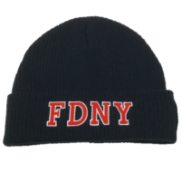 FDNY Knit Hat Flag