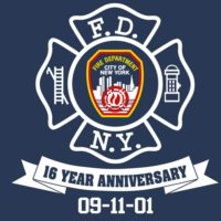 Never Forget 16th frnt logo